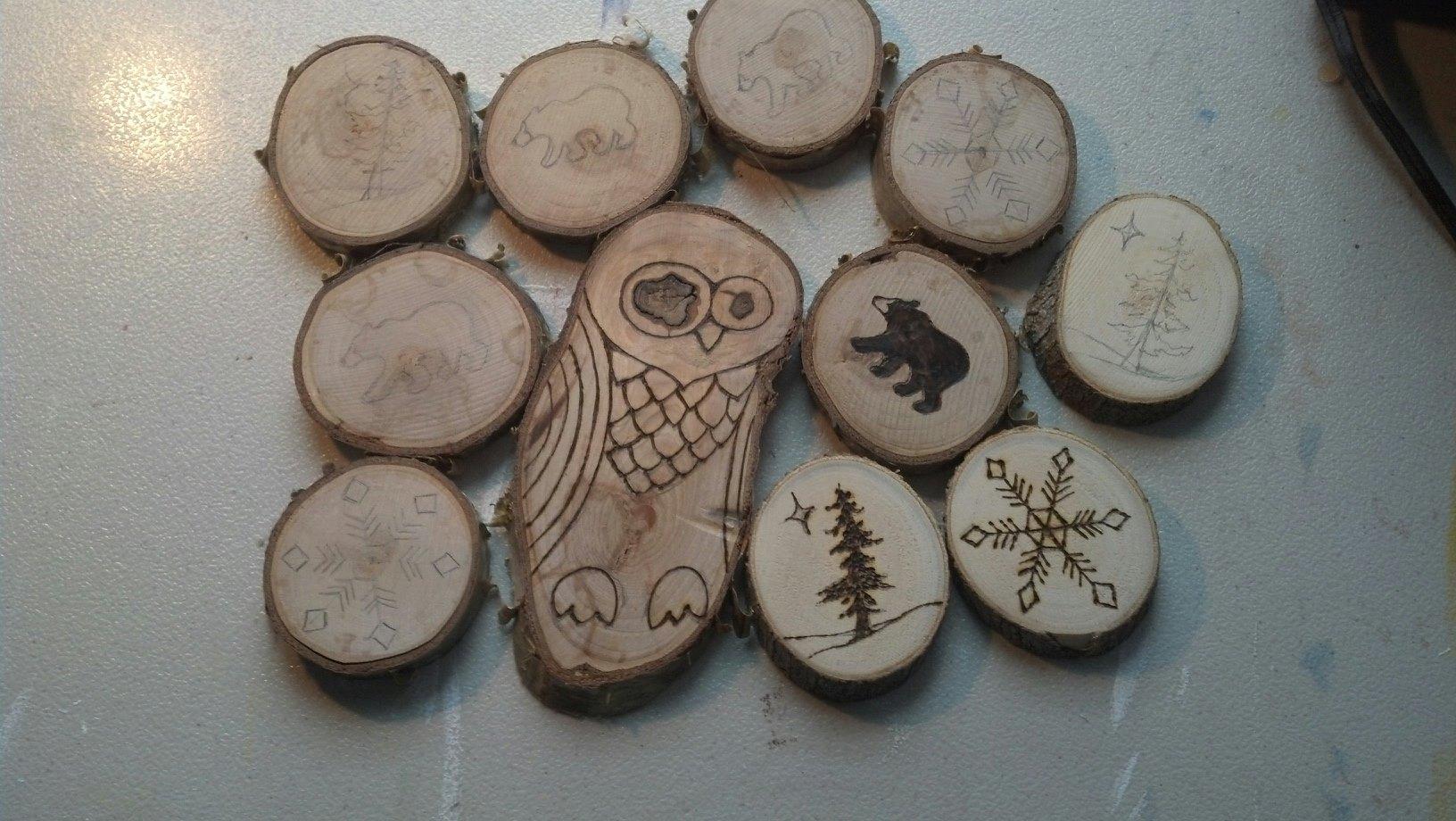 wood burning | Fire Oak Studio