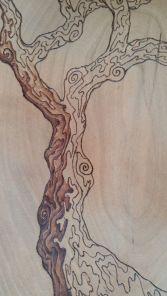 Fire Oak Studio WIP Closeup